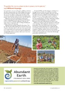 Youth In Permaculture Prize 2018 - 2