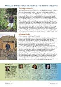 Youth In Permaculture Prize 2018 - 3