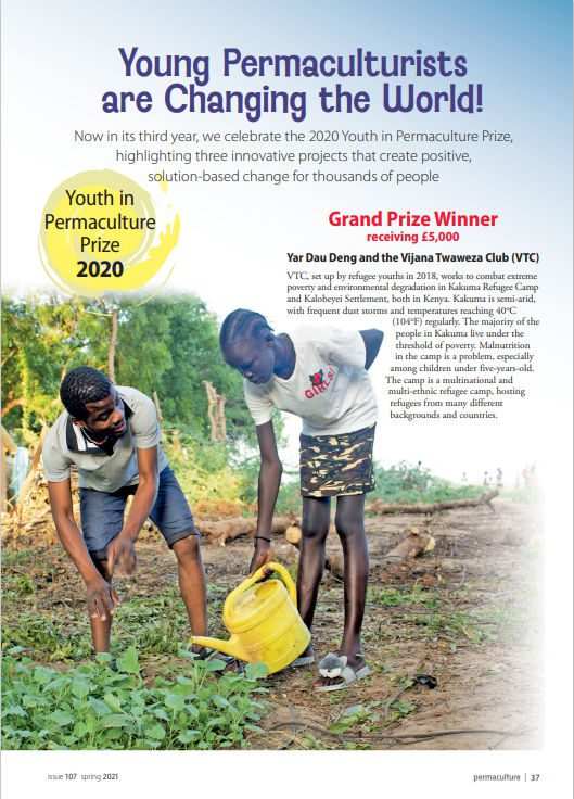 Youth In Permaculture Prize 2020 - 1