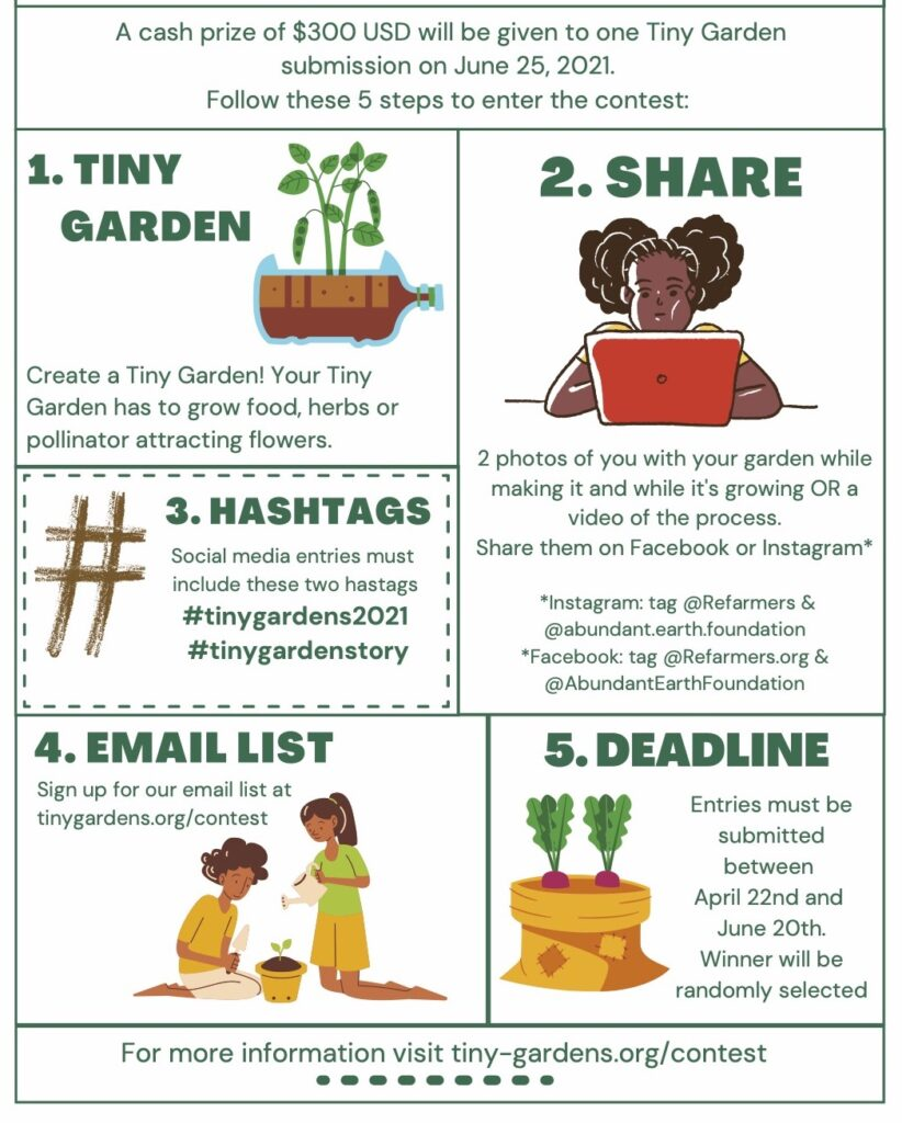 2021 Tiny Garden Contest