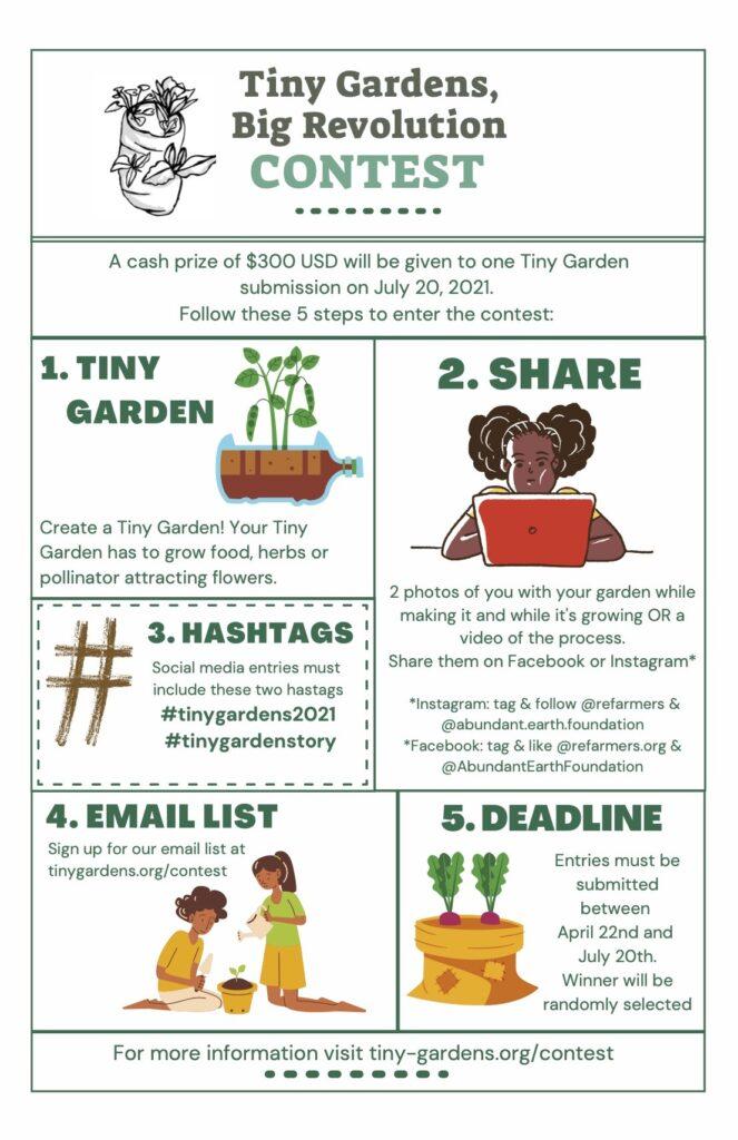 Tiny Garden Contest 2021