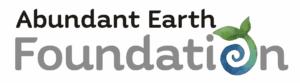 Abundant Earth Foundation 400 Header Logo