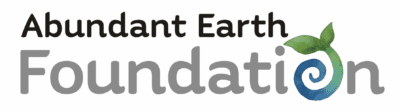 Abundant Earth Foundation 400 Header Logo