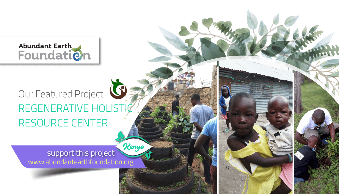 Read more about the article Regenerative Holistic Resource Center in Kenya