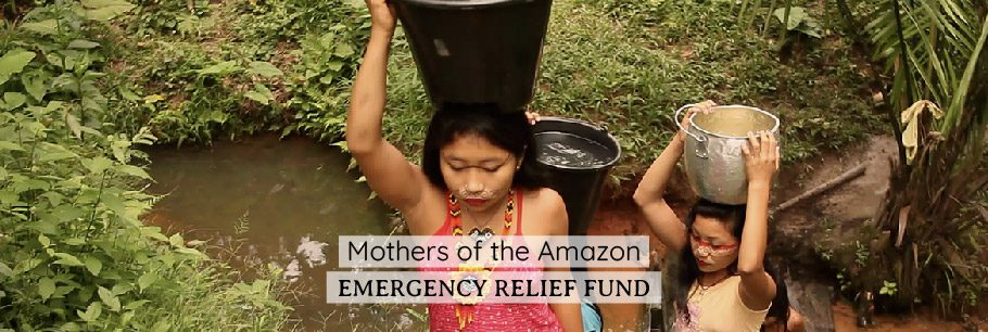 Mothers of the Amazon Web Banner