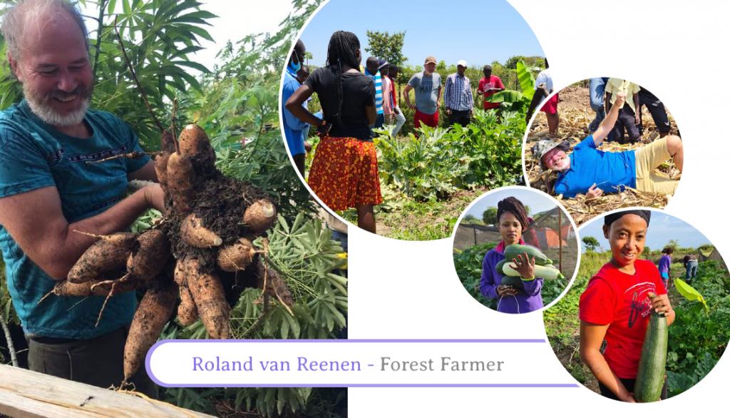 Roland van Reenen ARC - Agroforestry Regeneration Communities Teacher