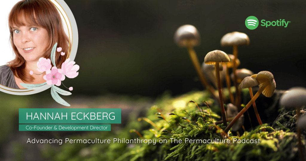 hannah eckberg permaculture podcast newsletter image
